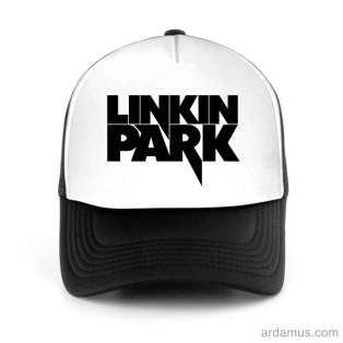 Linkin Park Trucker Hat Baseball Cap DJ by Ardamus.com Merchandise