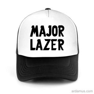 Major Lazer Trucker Hat Baseball Cap DJ by Ardamus.com Merchandise