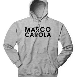 Marco Carola Hoodie Sweatshirt by Ardamus.com Merchandise
