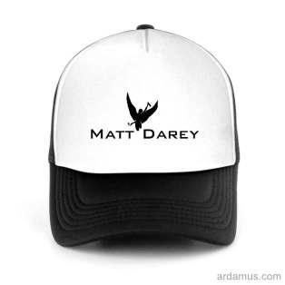 Matt Darey Trucker Hat Baseball Cap DJ by Ardamus.com Merchandise