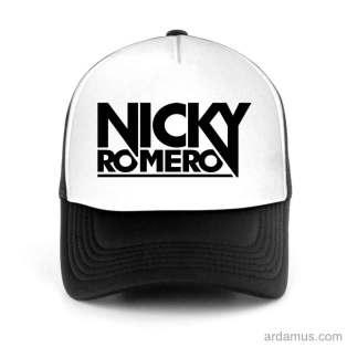 Nicky Romero Trucker Hat Baseball Cap DJ by Ardamus.com Merchandise
