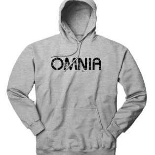 Omnia Hoodie Sweatshirt by Ardamus.com Merchandise