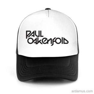 Paul Oakenfold Trucker Hat Baseball Cap DJ by Ardamus.com Merchandise
