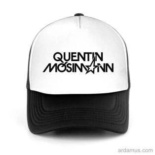 Quentin Mosimann Trucker Hat Baseball Cap DJ by Ardamus.com Merchandise