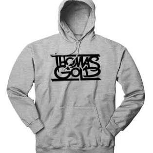 Thomas Gold Hoodie Sweatshirt by Ardamus.com Merchandise