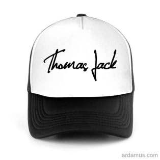Thomas Jack Trucker Hat Baseball Cap DJ by Ardamus.com Merchandise