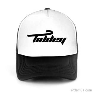 Tiddey Trucker Hat Baseball Cap DJ by Ardamus.com Merchandise