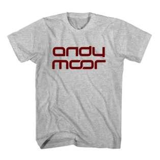 T-Shirt Andy Moor Men Women Tee by Ardamus.com Merchandise