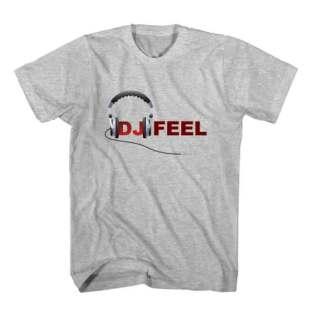T-Shirt DJ Feel Men Women Tee by Ardamus.com Merchandise