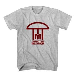 T-Shirt Infected Mushroom Logo Men Women Tee by Ardamus.com Merchandise