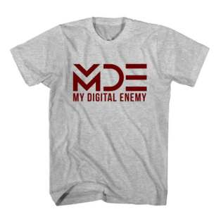 T-Shirt My Digital Enemy MDE Men Women Tee by Ardamus.com Merchandise