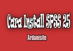 cara install spss 25