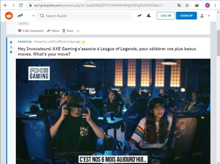cara membuka situs reddit