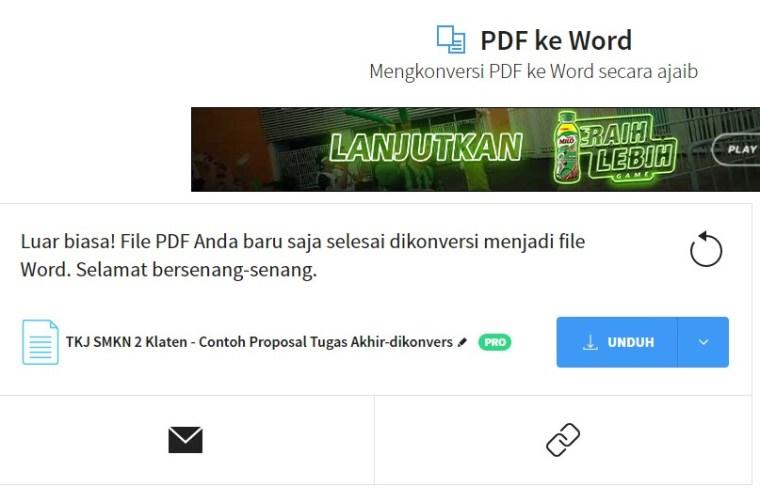 hasil konversi pdf ke word