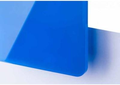 Plexi Bleu ciel Translucide