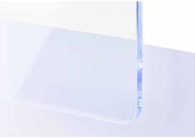 Plexi Ice blue Fluorescent