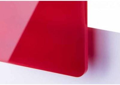 Plexi Rouge Translucide