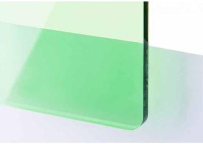 Plexi Vert Transparent