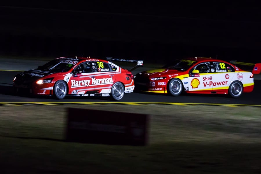 SYDNEY MOTORSPORT PARK SHINES UNDER LIGHTS