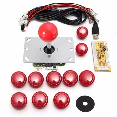 joystick diy arcade set usb