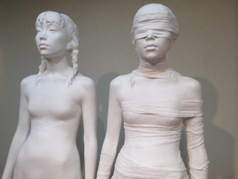 田原迫華 彫刻展「Grind Horizon」ギャラリー アートもりもと