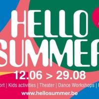 """""""Back on Stage"""" et événements d' """"Hello SUMMER"""", en août, à Bruxelles"""