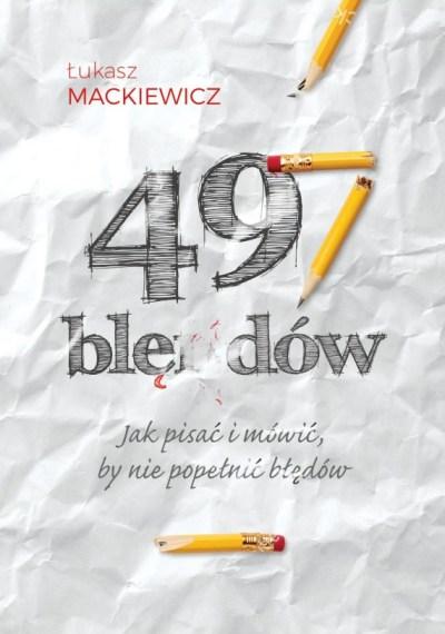 Tworzenie okładki książki 497 błędów