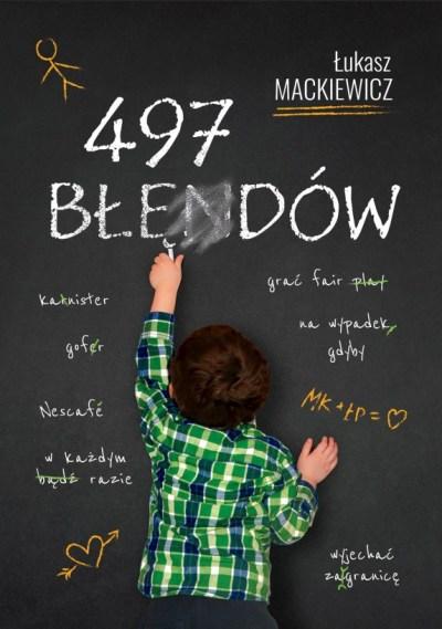 Finalna wersja okładki książki 497 błędów