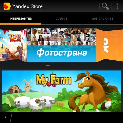 Yandex Store alternativa Google Play