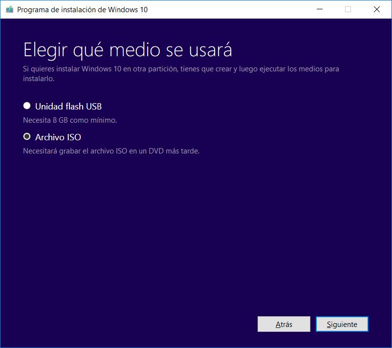 ISO Windows 10 April Update