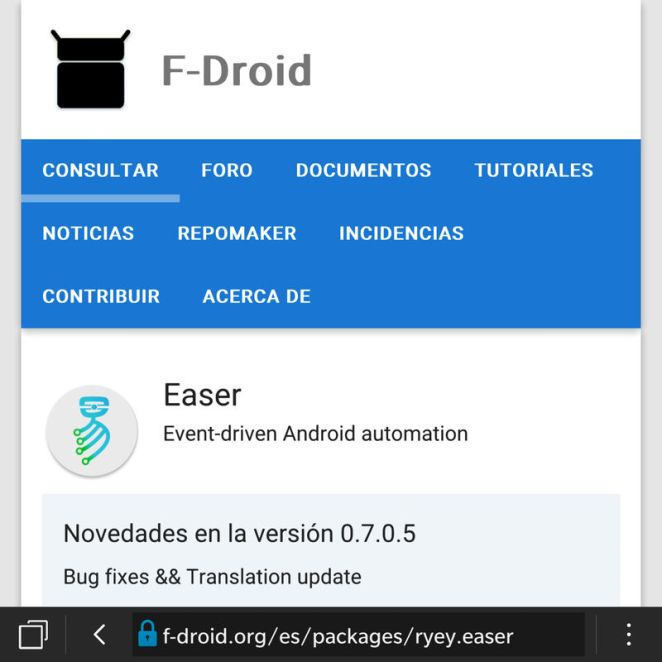 F-Droid alternativa Play Store