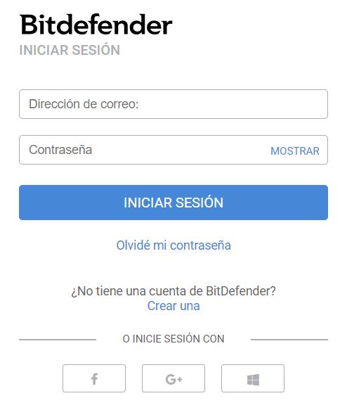 registro bitdefender