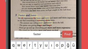 SearchCam buscar texto