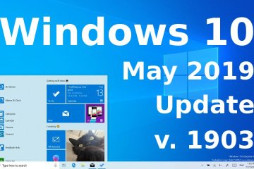 Windows 10 May 2019 Update 1903