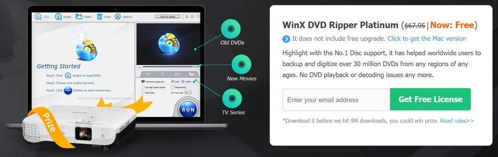 Sorteo WinX DVD