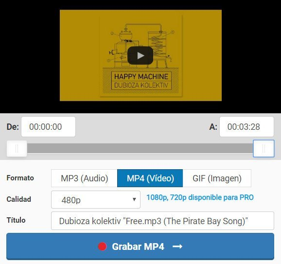 Descargar videos de Youtube sin programas