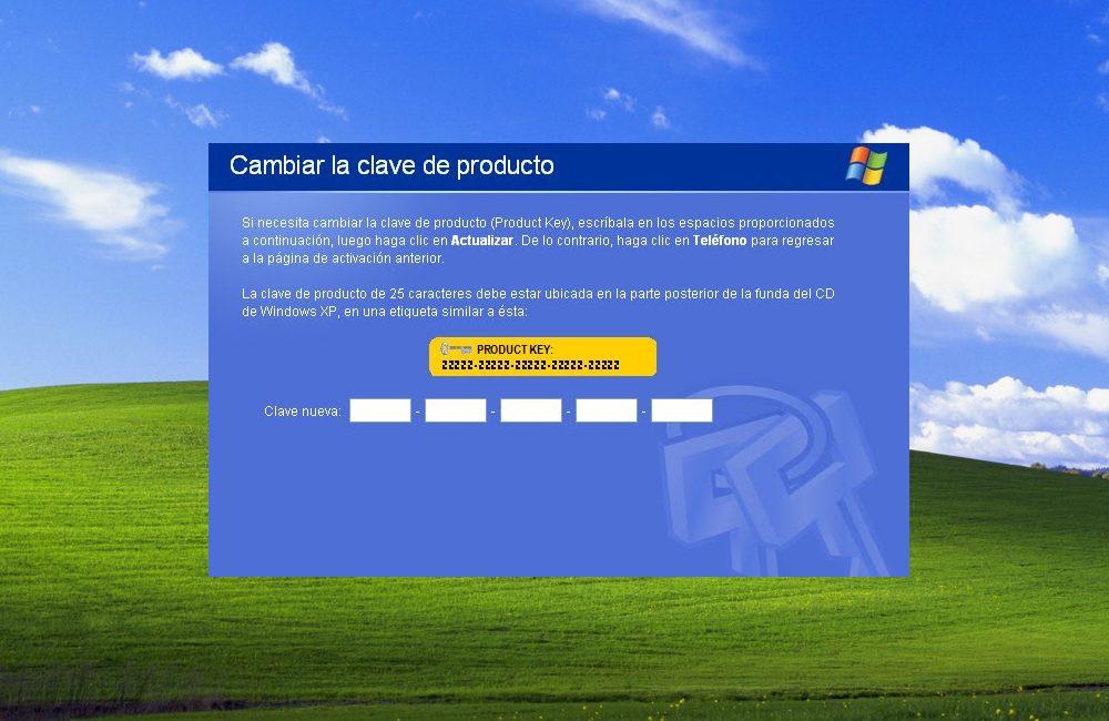 Seriales Windows XP