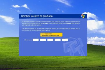 Seriales Windows XP