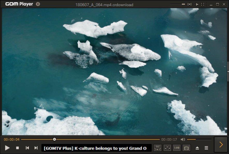 GOM Player reproductor de videos 360 grados