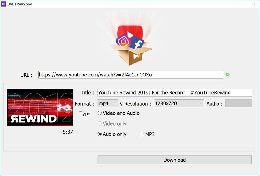 descargar videos de Youtube con KMPlayer