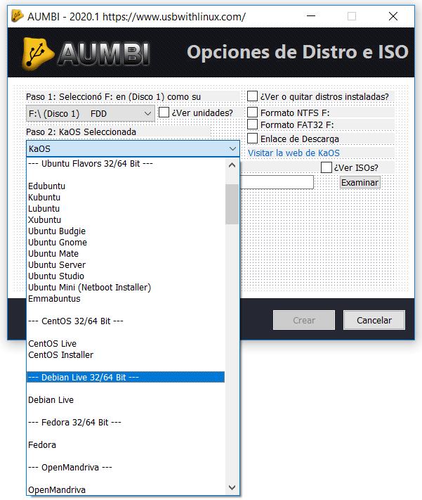 AUMBI USB multiarranque