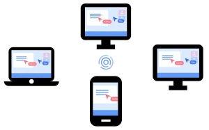 Screen aplicación de pantalla compartida y videoconferencia