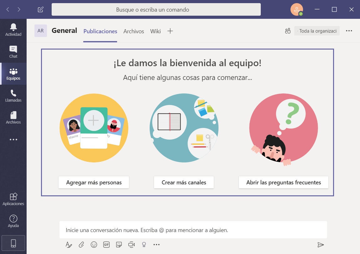 Microsoft Teams para Windows