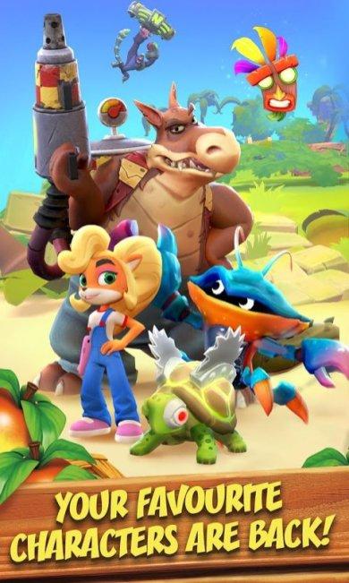 APK Crash Bandicoot para Android gratis