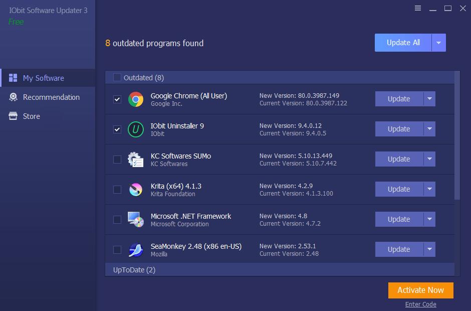 iObit Software Updater gratis