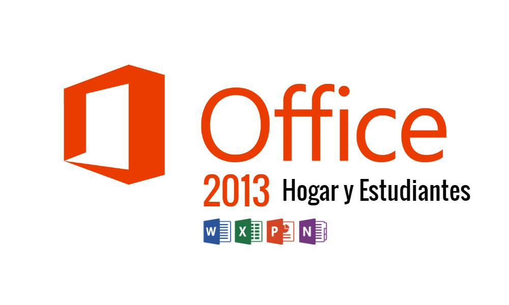 Microsoft Office 2013 Hogar y Estudiantes ISO
