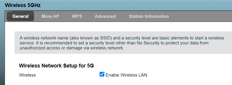 Aumentar velocidad Internet WiFi 5GHz