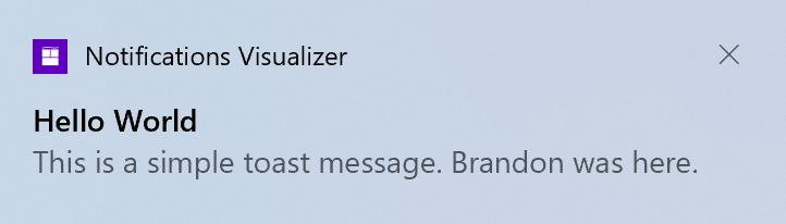 notificaciones windows 10 20h2