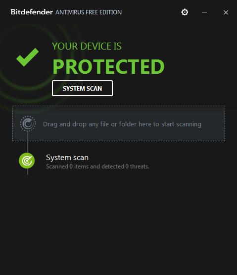 Bitdefender Antivirus gratis para Windows 10, 8 y