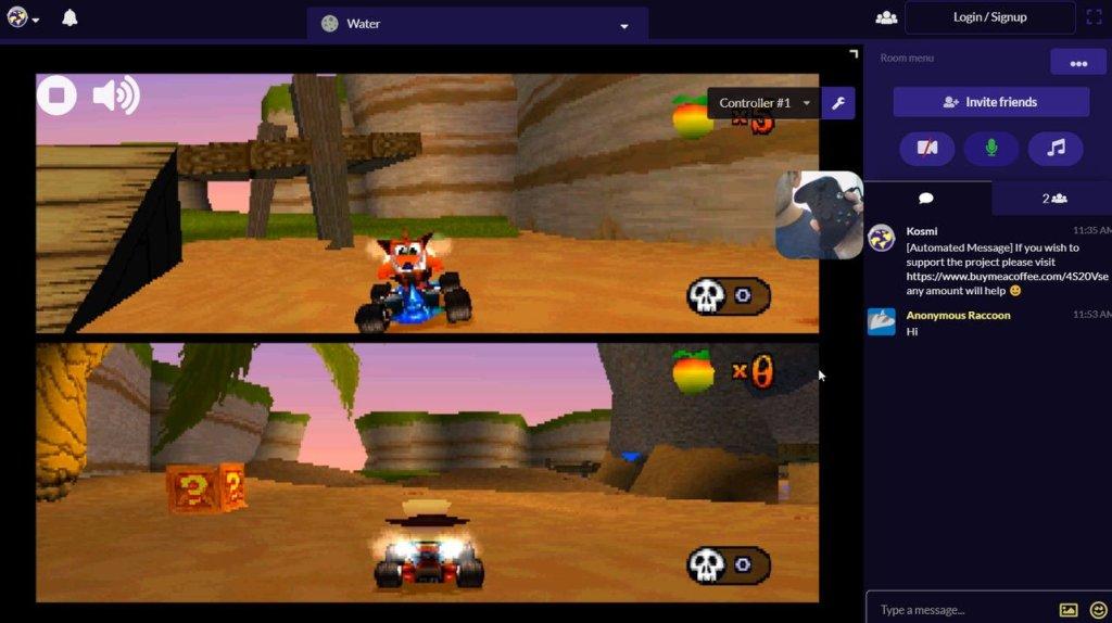 PSX Party emulador ps1 online multijugador